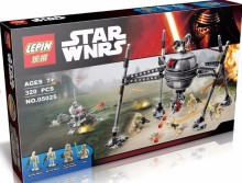 LEPIN 05025 Star Wars Series Kylo Ren BB-8 Homing Spider Droid Minifigures Building Block Compatible with Legoe