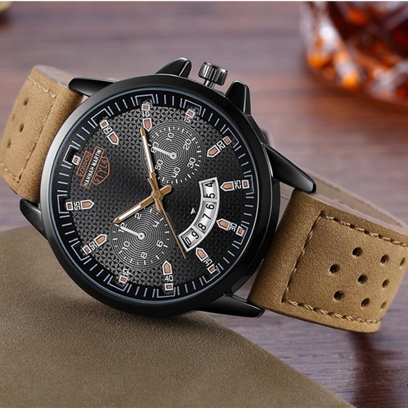 Ханна Мартин Для мужчин спортивные часы Для мужчин часы Мода Военный Для мужчин смотреть Авто Дата Водонепроницаемый часы Saat reloj Hombre