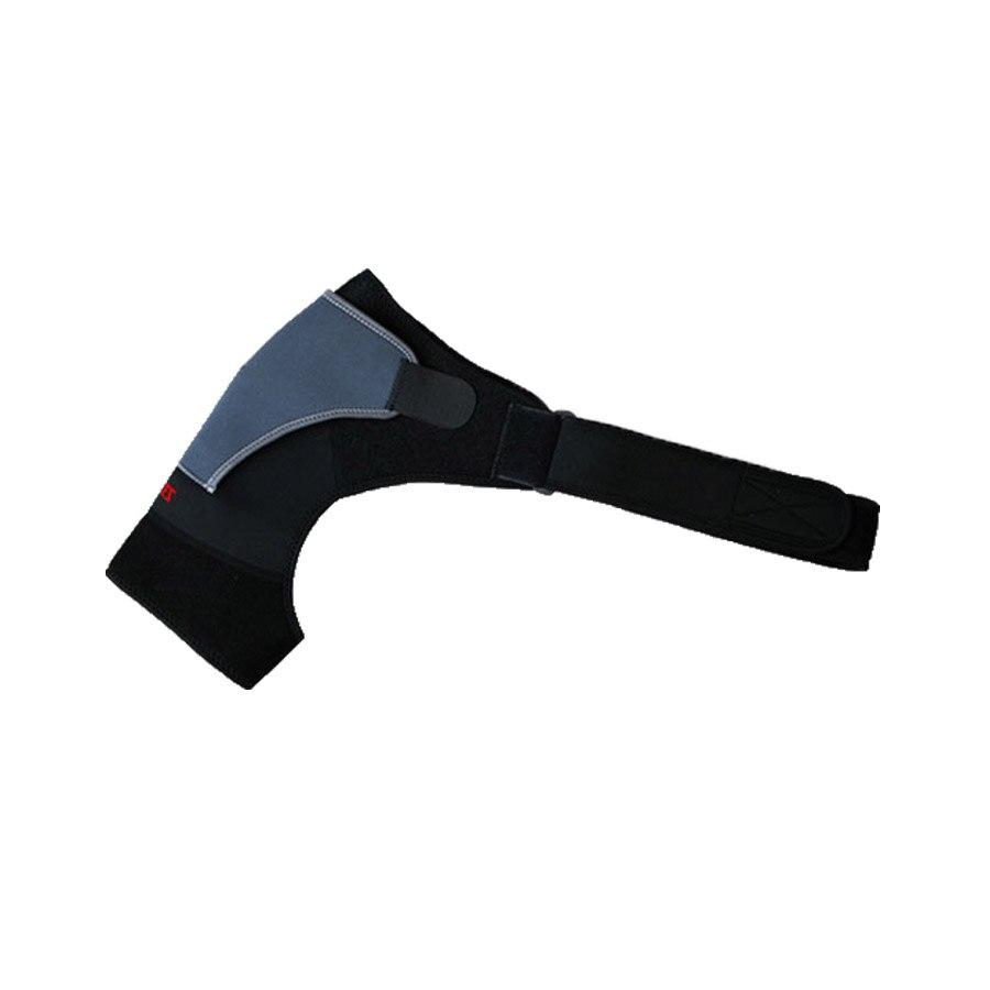 Регулируемый право одного плеча Брейс Поддержка ремень Pad тренажерный зал Спорт защиты Поддержка травмы артрит боли повязки Z16301