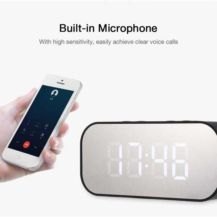 mirror clock speaker (15)