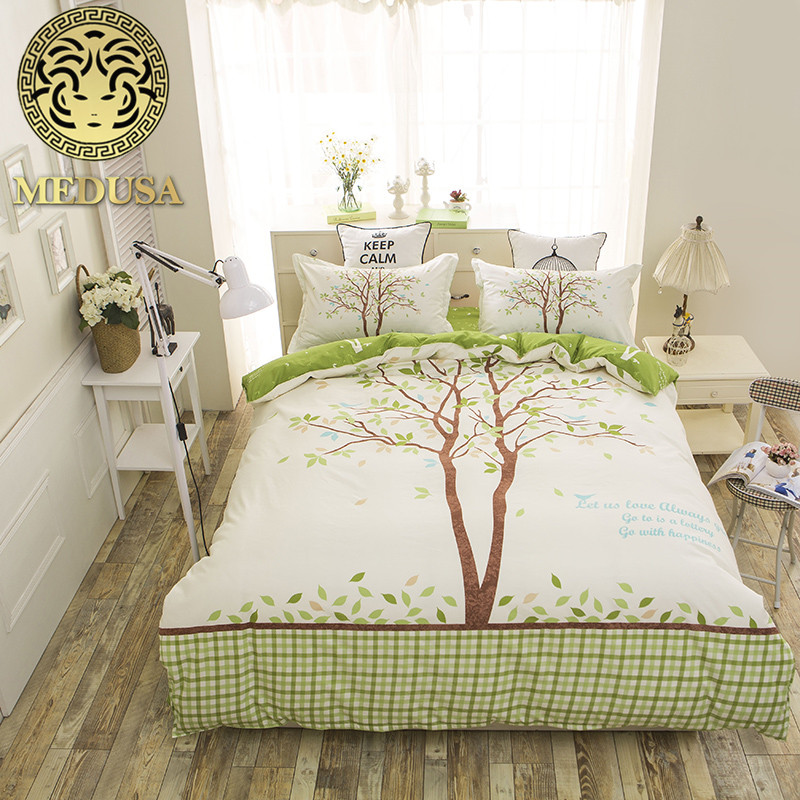 Medusa Giraffe Children Bedding Set Queen Full Single Size Duvet Cover Bed  Sheet Pillow Cases 3/4pcs Bedclothes In Bedding Sets From Home U0026 Garden On  ...