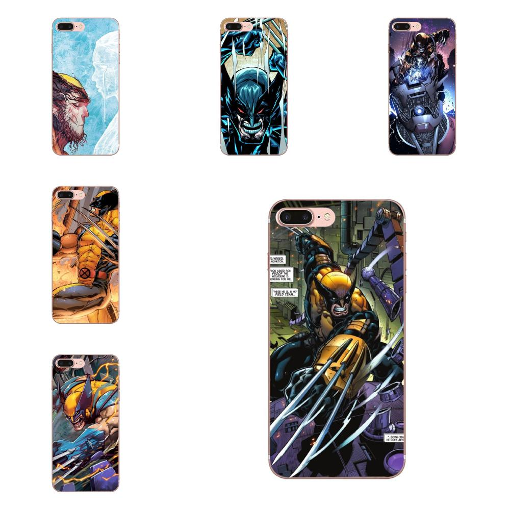 Marvel Comics Super Hero Wolverine For Huawei Honor 4C 5A 5C 5X 6 6A 6X 7 7A 7C 7X 8 8C 8S 9 10 10i 20 20i Lite Pro image