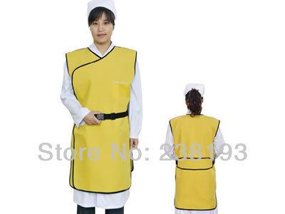 Modelos de atualização x-ray proteção roupas mais suave, ao longo da vida, material 0.35 mmpb personalizado borracha chumbo colete/colete