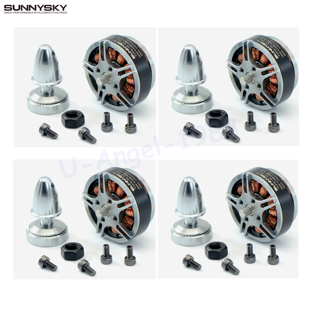 4set lot Sunnysky V2806 400kv 650KV disc motor for RC model aircraft quadcopter multi rotor drone