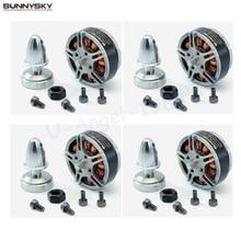 4 компл./лот Sunnysky V2806 400kv 650KV диск двигателя для Радиоуправляемая модель самолета quadcopter multi-ротора Дрон аксессуары