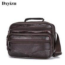 Мужская сумка из натуральной кожи с верхней ручкой сумки мужские мини-Чехлы для iPad мужские плечевые сумки через плечо сумка-мессенджер маленькие Лоскутные повседневные сумки