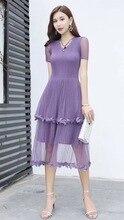 Original Dress Simple Exquisite Pure Color Super Elastic Women's Pleated Dress Slim Dress Four Colors Dress for Fat Womens pure color 1 2 sleeve pleated dress