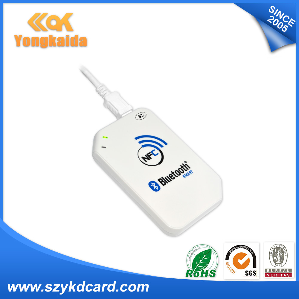 YongKaiDa 13.56mhz acr1255u-j1 ISO18092 (NFCIP-1) Compliant with bluetooth USB nfc card reader writer yongkaida 13 56mhz acr1255u j1 iso18092 nfcip 1 compliant with bluetooth usb nfc card reader writer