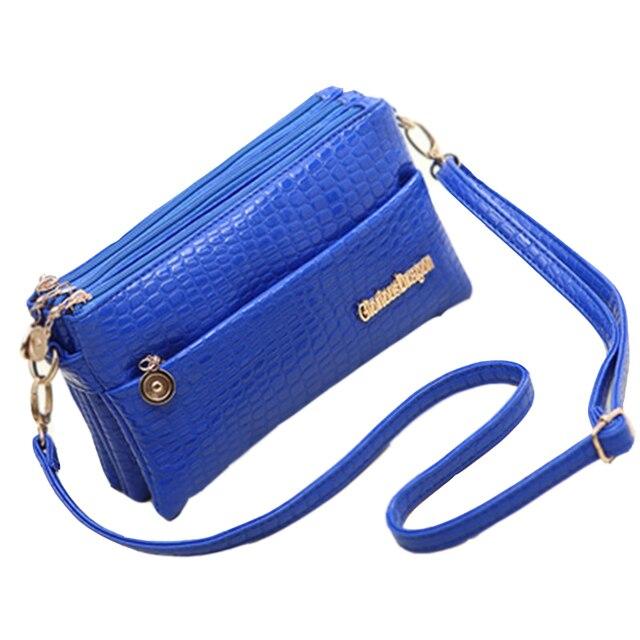 OLGITUM New 2017 Small Shoulder Bag Crocodile Pattern Bag Women Messenger Bags for Women Hot Sale Handbag New Clutch F038