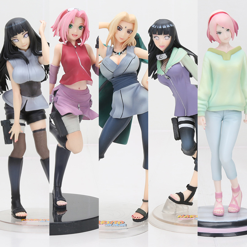21cm Naruto Tsunade Anime Action Figure PVC New Collection figures toys Collection for Christmas gift