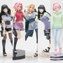21cm Naruto Tsunade Anime Action Figure PVC New Collection figures toys Collection for Christmas gift action figures toys kunkka lina pudge queen tidehunter cm fv pvc action figures collection dota2 toys