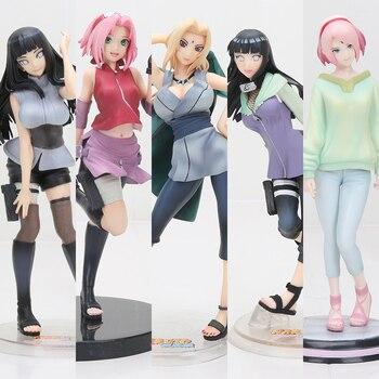 Naruto Anime Action Figures – Tsunade, Hinata, Sakura, Hyuuga