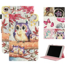 Case For ipad Mini 1 2 3 4 Case PU Leather Silicone Soft Back Smart Cover For Funda ipad Mini 4 3 2 1 Case A1432 A1489 цена