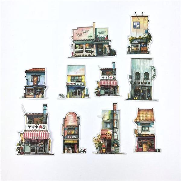 1 пакет, милые Мультяшные декоративные наклейки в Корейском стиле, клейкие наклейки, скрапбукинг, сделай сам, декоративные наклейки для дневника - Цвет: 16