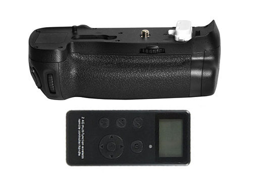 MB D18 Replacement Battery Grip 2 4G Wireless Remote Control for Nikon D850 Digital SLR Cameras