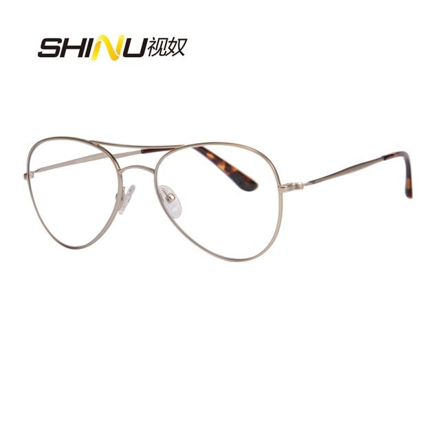 21b39f584 Excelente Lente Multifocal Progressiva Óculos de Leitura Bifocal Óculos  Confortável Para A Visão De Longo &