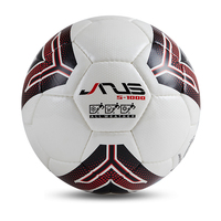 JANUS Professional Genuine Seamless Soccer Ball Standard Size 5 PU Leather Training Football Size 4 Futebol