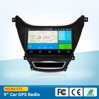 Quad Core Android Fit Hyundai ELANTRA 2012 2013 2014 2015 Car DVD Player Navigation GPS 3G