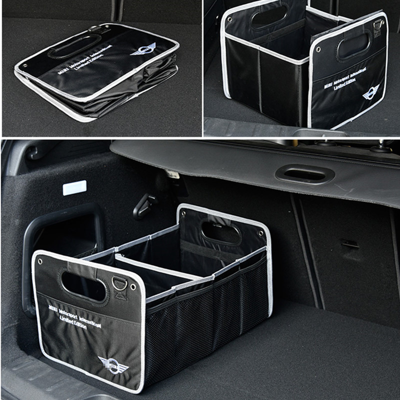 1X Auto Accessories Car Truck Box Bag Styling For Mini Cooper R53 R55 R57 R58 R59 R60 R50 Clubman Countryman R52 JCW Paceman F55