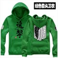 Attack on Titan Shingeki no Kyojin Hoodies Scouting Legion Allen Yeager Cosplay Hoodie Jacket Party clothes Free Shipping