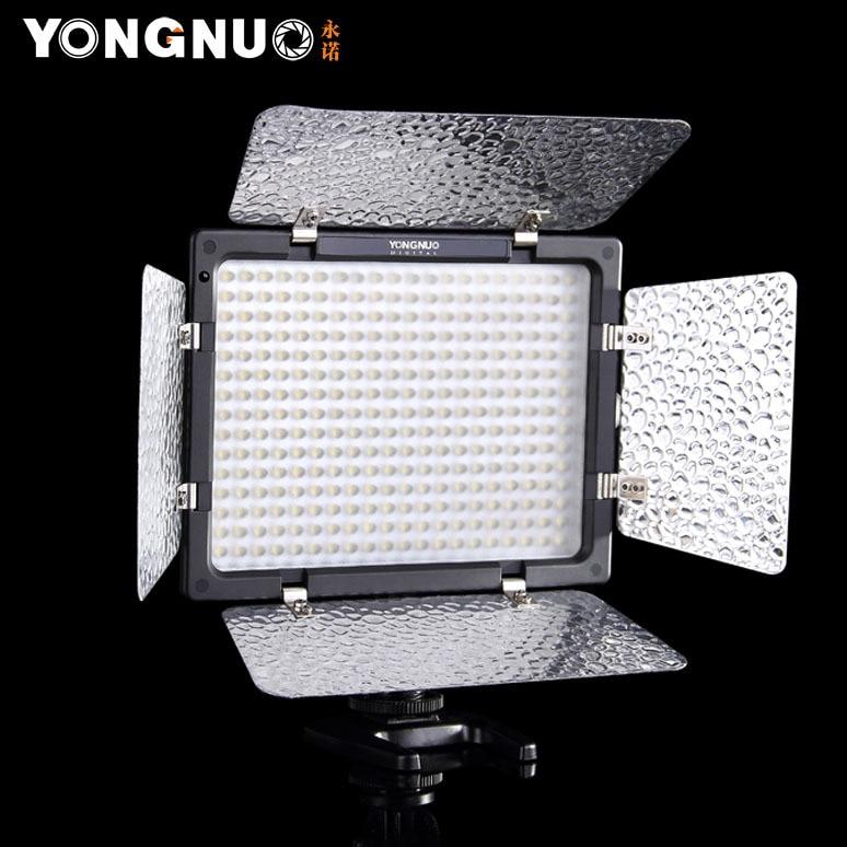 YONGNUO YN-300 II LED YN 300 YN300 II LED 3200K-5500K LED Light LED Video Camera Light for Canon Nikon Olympus Pentax Samsung бинокль pentax papilio ii 8 5x21