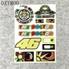 Moto GP Rossi 46 Sun Atv Moon The Doctor Car Stickers Motocross World Racing Decals SBK