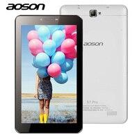 Latest 7 S7 Pro Aoson 2G 3G 4G Wifi Phone Call Tablet PC 8GB ROM Quad