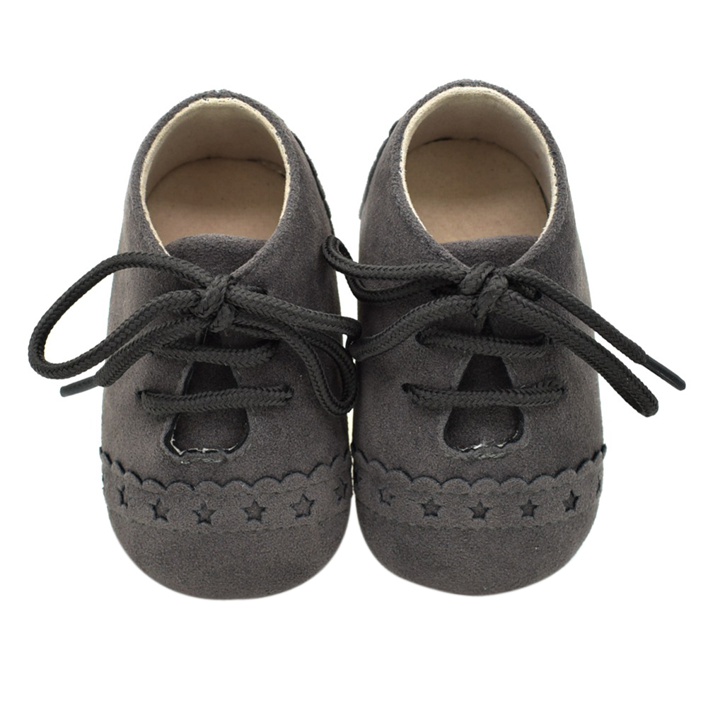 Mother & Kids ... Baby Shoes ... 32796733331 ... 5 ... Newborn Baby Shoes Girls Boys Soft Warm Nubuck Leather Prewalker Anti-slip Shoes Canvas Sports Sneakers Moccasins Footwear Shoes ...