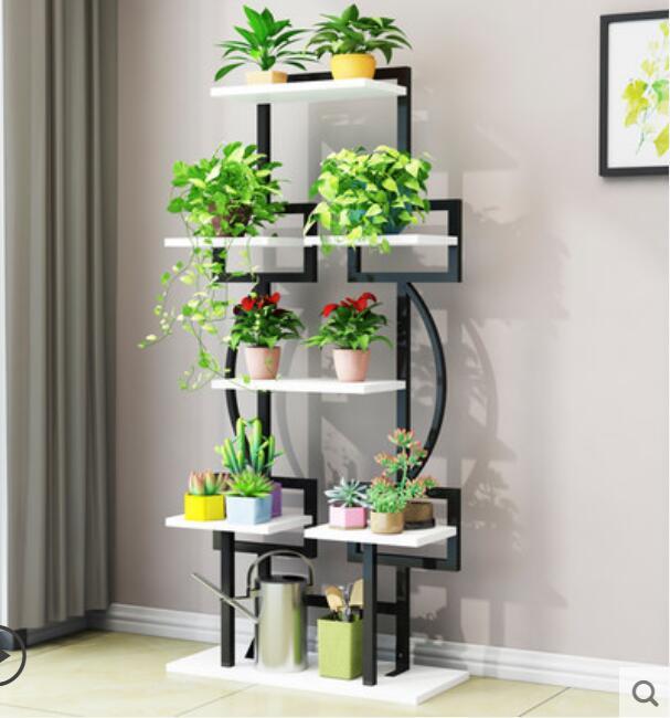 Hot Selling Floding Plant And Flower Rack  Balcony Shelf Living Room Plant Shelf