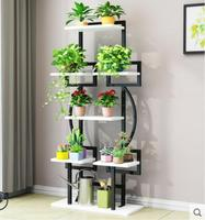 Hot selling floding plant and flower rack Balcony shelf living room plant shelf