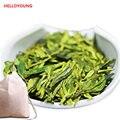 250g Dragão Chinês Bem Longjing chá verde o chá verde chinês Long jing da China saco de chá verde + presente