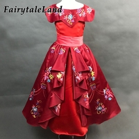 Girls Princess Elena Dress Kids Embroidery Dress Cosplay Elena Of Avalor Elena Costume Halloween Costumes Girls