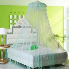 2018 Elegant Canopy Mosquito Net For Repellent Tent Insect Reject Bed Curtain Round Dome Bedding