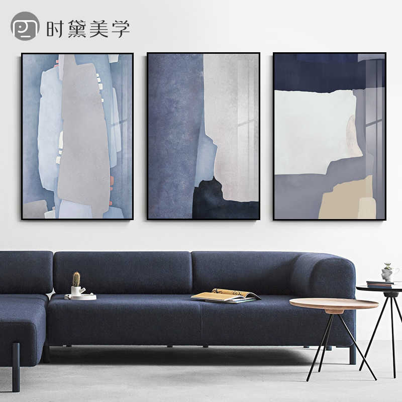 Abstract colour block canvas painting poster and print wall Art Picture Poster Mural for bedroom Living Room Home Decor Painting