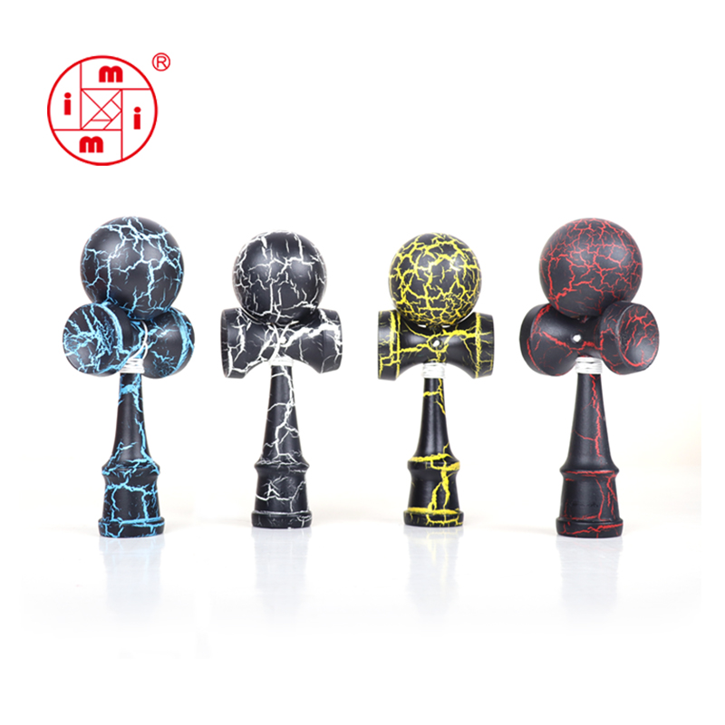MITOYS Kendama 18 5 cm Wooden Toys Outdoor Sports Toy Balls Skillful Juggling Ball toy For