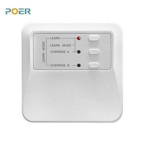 Image 3 - 주간 프로그래머블 워터 언더 플로어 난방 스마트 온도 조절기 실내 온도 컨트롤러 app로 제어되는 온도 조절기 4 개