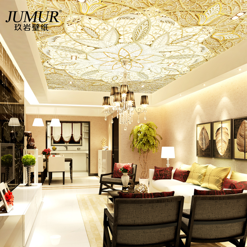 3D three dimensional ceiling wallpaper wallpaper ceiling ceiling ...
