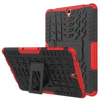New Hybrid Dual Heavy Duty Hard PC+TPU Tablet Armor Cases Cover With Stand For Samsung Tab A/T550 T555 S2/T810 S3/T820 9.7