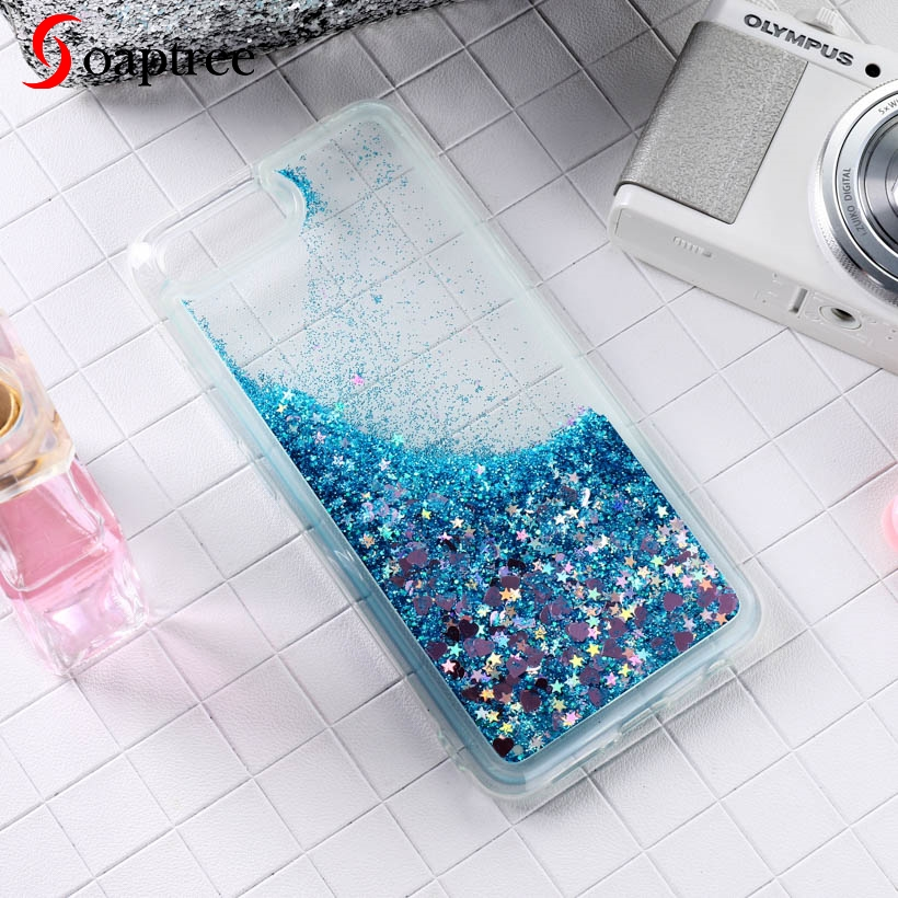 Soaptree Soft Phone <font><b>Case</b></font> For <font><b>Oppo</b></font> K1 <font><b>Cover</b></font> For <font><b>Oppo</b></font> R15X A5 A3s F11 Pro A9 Reno Z Ace A9 A5 2020 A11X Glitter <font><b>Liquid</b></font> <font><b>Case</b></font> image