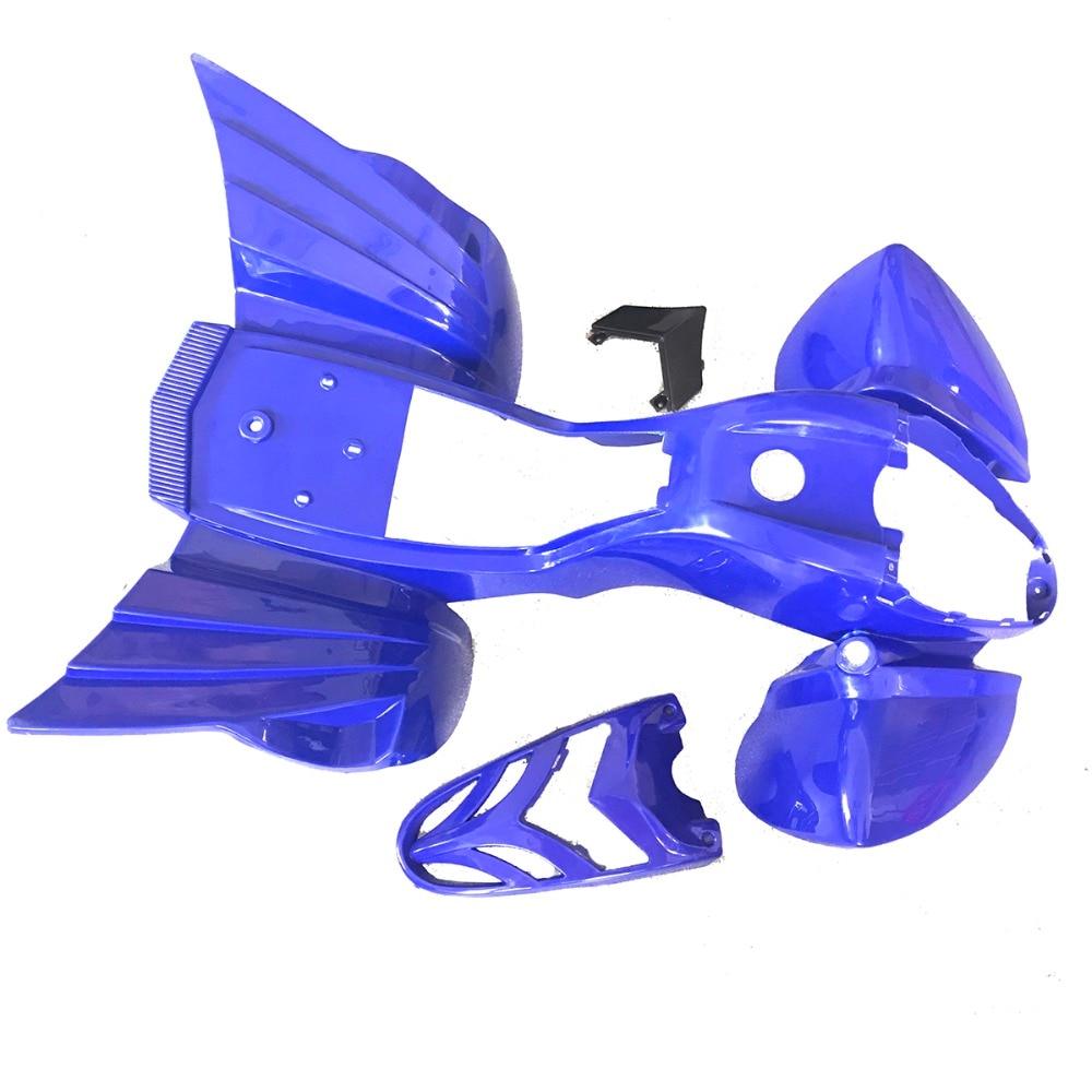 new genuine kazuma mini falcon 90 body fender plastic body 90cc atv blue color or red or black [ 1000 x 1000 Pixel ]