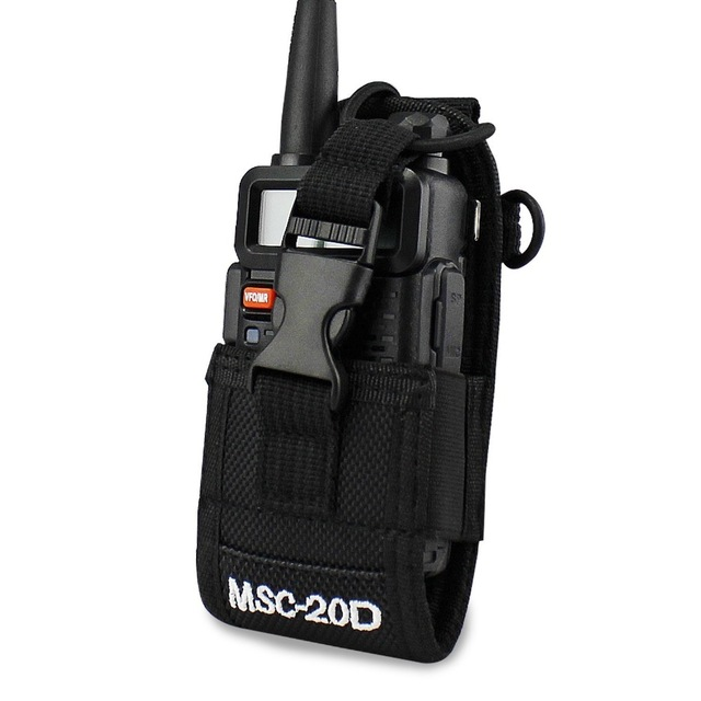 Abbree MSC-20D Nylon Carry Case Pour Talkie Walkie BaoFeng UV-5R UV-5RA UV-5RB UV-5RC UV-B6 BF-888S TYT Mototrola Radio
