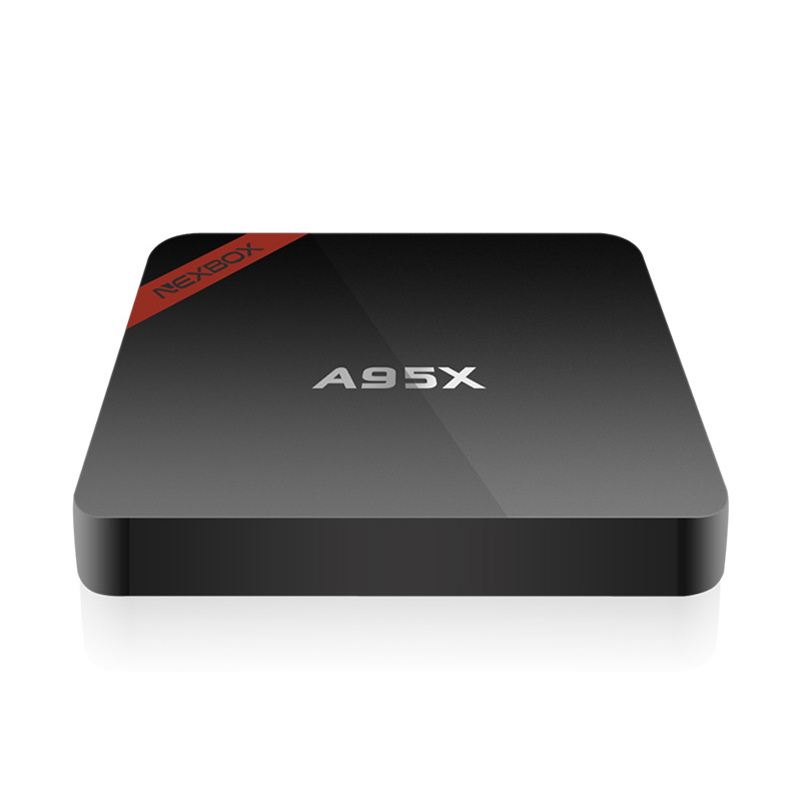 A95x wifi smart tv caja amlogic s905x nexbox android 6.0 caja 1G/8G Quad core Re