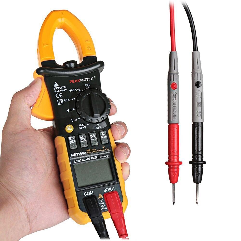 Gm Instruments Digital Clamp Meter : Digital multimeter amper clamp meter ms a current