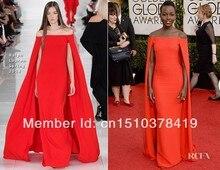 Carpet декольте знаменитости red длиной бретелек пола русалка hot пром модные