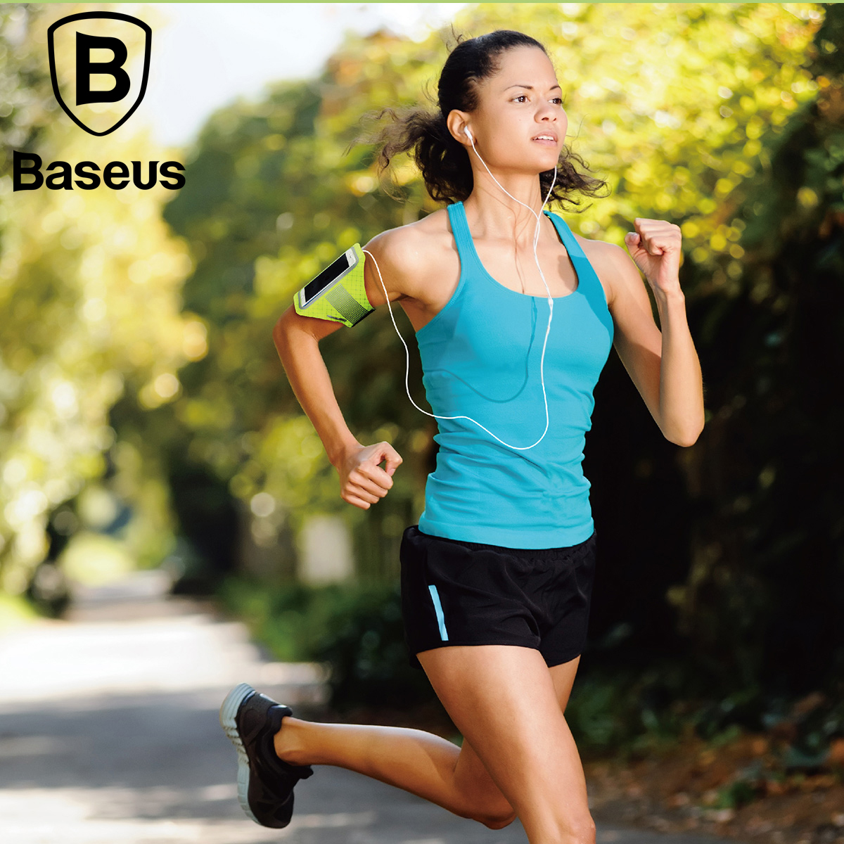 Baseus Sports Running Armband Waterproof Arm Band Cover Case For iPhone 7 6 6s Plus Samsung Xiaomi HTC LG Sony Phone Bag Pouch
