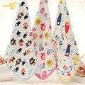 1 pic towel cozinha mão dos desenhos animados do bebê toalha gaze bebê towel tmj23 towel toalha bebê roupão toalhas para bebês