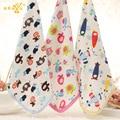 1 pic towel kitchen towel mano del bebé toallita de bebé toallas de gasa para bebés de dibujos animados albornoz towel toallita de bebé tmj23