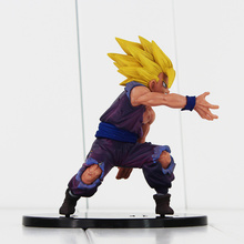 12cm Dragon Ball Son Gohan PVC DRAMATIC SHOWCASE Model Toy Doll Figure