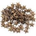 100X Bronze Rebites útil se aplica 15mm estrela rebites saco/Sapatos/Luvas