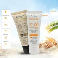 Disaar солнцезащитный крем для тела, отбеливающий крем от солнца, солнцезащитный крем для кожи, против старения, контроль жирности, увлажняющий SPF 90/50